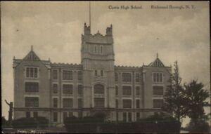 Richmond-Staten-Island-NY-Curtist-High-School-c1910-Postcard