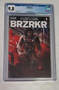 BRZRKR (Berserker) #1 - CVR A (Main) - Grampa - CGC 9.8