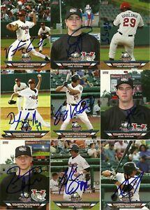 Details About 2006 Tricity Valleycats Jordan Parraz Signed Card Astros Henderson Nv