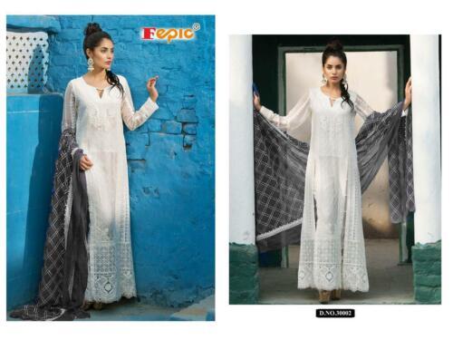 Salwar Kameez Suit Designer Pakistani Bollywood Anarkali Shalwar Party Wear KB