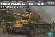 1/48 HOBBY BOSS 84818 - German Pz.Kpfw KV-1 756 (r) Tank  Model Kit