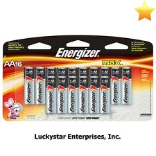 Energizer Max Alkaline AA Batteries - Pack Of 16 - Exp 3/2023 - 108043