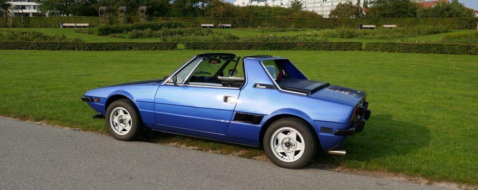 Fiat X 1/9, 1,3, Benzin
