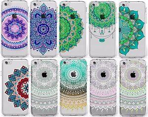 Mandala-Coque-Etui-Case-Apple-iPhone-6-6s-4-7-034-Protecteur-D-039-ecran-Silicone