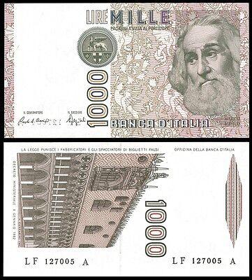 ITALY 1000 Lire Marco Polo 1982 P 109b UNC