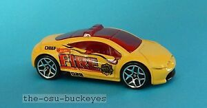 2013-Hot-Wheels-Loose-Mitsubishi-Eclipse-Concept-Yellow-Brand-New-Combine-Ship