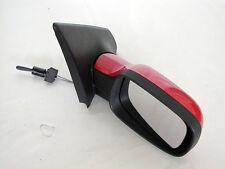 Renault Megane II specchietto esterno specchio dx manuale rosso 12353070