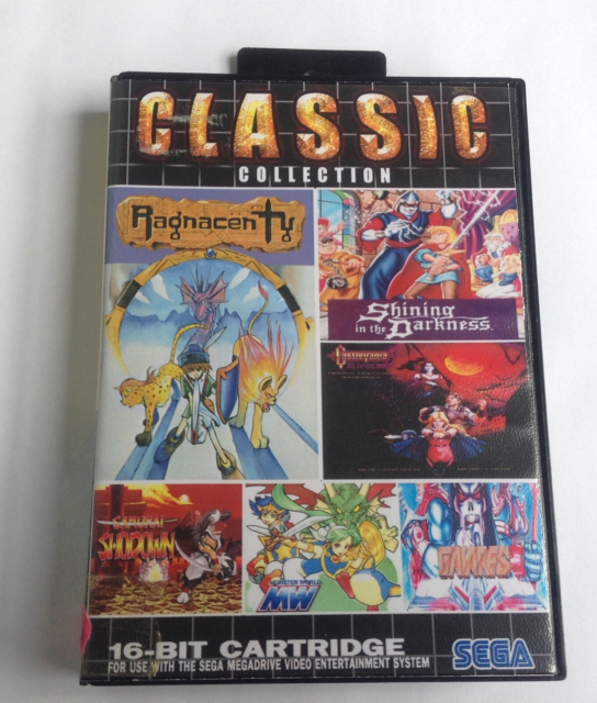 196 in 1 CLaSSIC Collection, SEGA Mega Drive