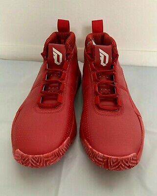 Adidas Dame 5 Mens Size 11 5 Basketball Shoes Red Ee5433 Damian Lillard Sneakers Ebay