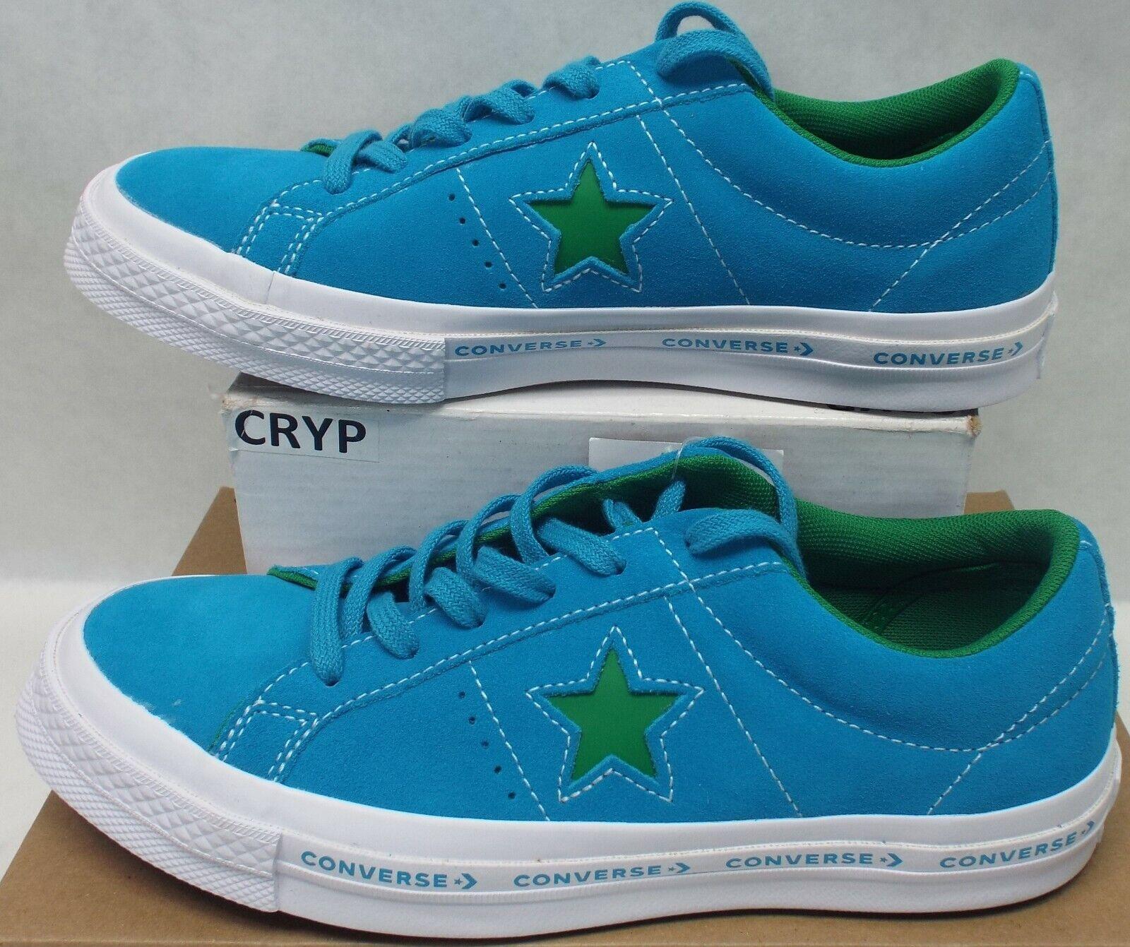 Homme 5.5 Femme 7.5 Converse One Star daim Ox Hawaiian Ocean Chaussures 80 259813   C