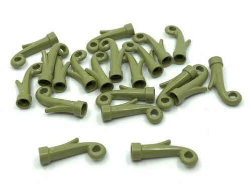 LEGO 20pcs NEW Olive Green Grass Plant Stem Bulk Lot 15279 6226619