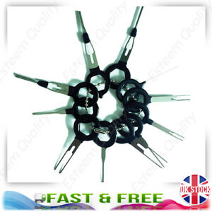 Details about 11pcs Wiring Connector Extractor Car Terminal Pin Removal  Puller Release Tool UK