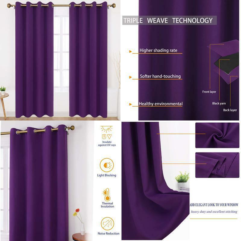 Lining Blackout Velvet, White Room Darkening Curtains 96 Inch