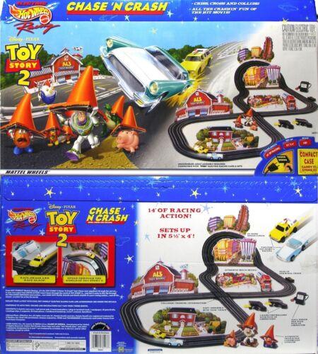 1999 TYCO Mattel 440-X2 Disney Toy Story 2 Slot Car RACE SET Sealed 1957 T-Bird!