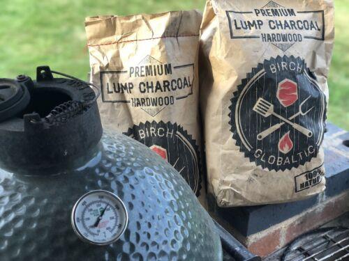 Globaltic Premium Restaurant Grade Lumpwood Birch Charcoal 10kg Bag