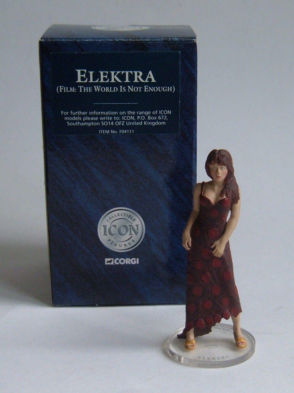 Corgi Icon No. F04111, James Bond Collection - Elektra Figure, - Superb.