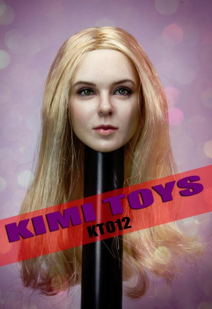 KIMI KT012 1 6 blonde hair female female female head for 12  figure Phicen hot toys❶US SELLER❶ f90cb7