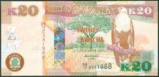 TWN - ZAMBIA 52a - 20 Kwacha 2012 UNC Prefix DA/12