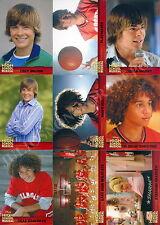 HIGH SCHOOL MUSICAL MOVIE 1 2007 TOPPS MINI MASTER BASE SET + 3 INSERT CARD SETS