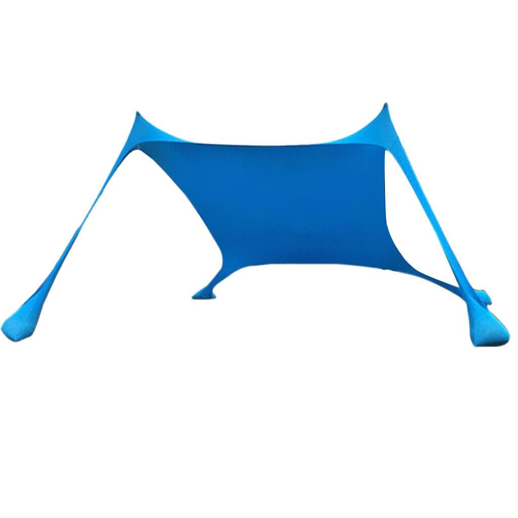 Portable Tent Tarp Sun Shelter Pop Up Beach Sun Shade Canopy for 34 person