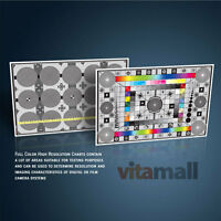 Set Of Large Test Charts For Mamiya Rz67-pro Iid Camera & Lens By Vitamall