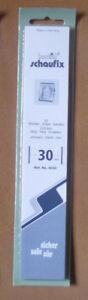 HAWID-SCHAUFIX-MOUNTS-30mm-BLACK-Pack-22-Strips-210mm-x-30mm-Ref-No-4030