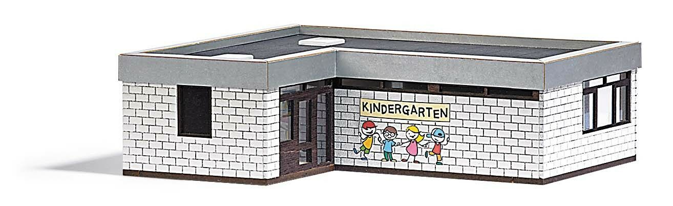 Busch 1434, 1434, 1434, Kindergarten, H0 Modellwelten Modell Bausatz 1 87 3380f4