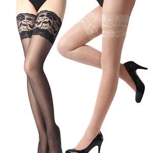 Sheer-Back-Seam-Thigh-High-Hi-Nylons-Stockings-Hosiery-Regular