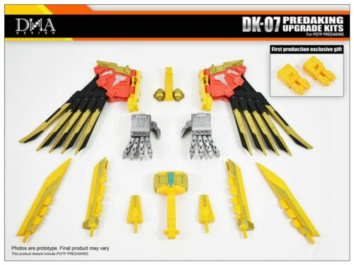 Transformers toy DNA DK-07 Upgrade Kits for For PREDAKING New