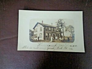Antique-Black-amp-White-Photograph-Postcard-Early-1900-039-s
