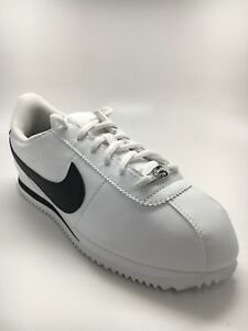 pretty nice 51907 57e5d Image is loading NIKE-CORTEZ-BASIC-SL-GS-WHITE-BLACK-904764-