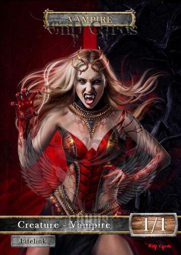 3x Vampire #21 Custom Altered Tokens