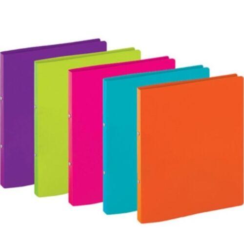 Classeur A5 A4 A3 Papier Stockage 2//4 Présentation Écran D/'Affichage Limes {