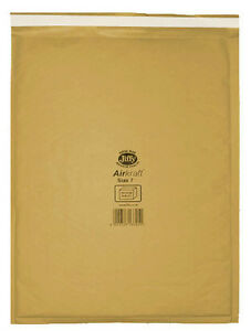 Image Is Loading 50 Large Gold Jiffy Bubble Lined Bags Envelopes
