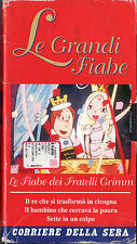 LE GRANDI FIABE - LE FIABE DEI FRATELLI GRIMM VHS