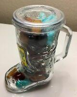 Cactus Candy Desert Rocks 10.5 Oz Arizona Handle Drinking Glass Sealed Gift