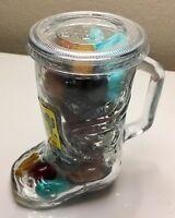 Cactus Candy Desert Rocks 10.5 Oz Arizona Handle Drinking Glass Sealed Gift