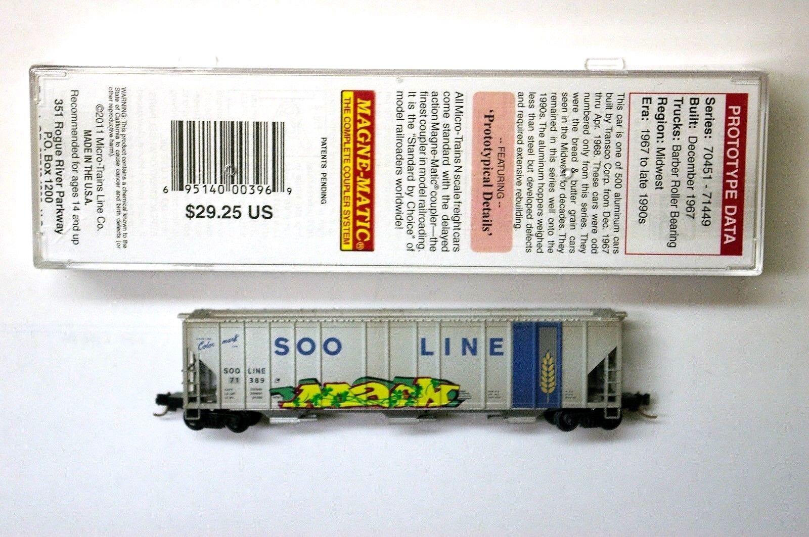 MTL Micro-Trains 99110 Soo Soo Soo Line 71389 FW Factory