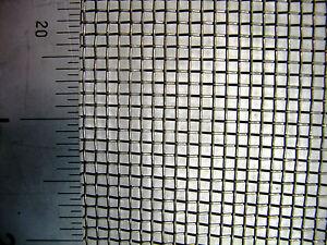 #10 x 0.36mm Wire x 2.18mm Aperture - Mild Steel (Plain Steel) - Woven Wire Mesh