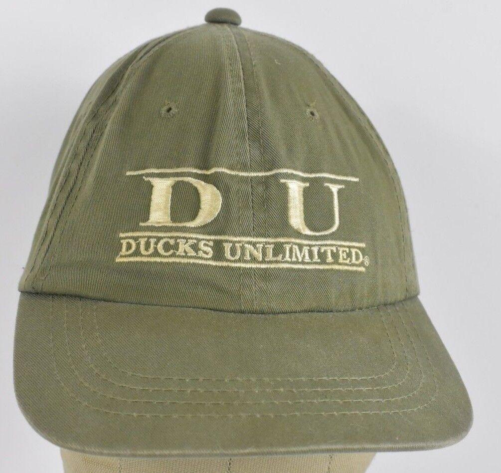 Green Baseball Ducks Unlimited Nonprofit Embroidered Baseball Green hat cap Adjustable Strap 839fcf