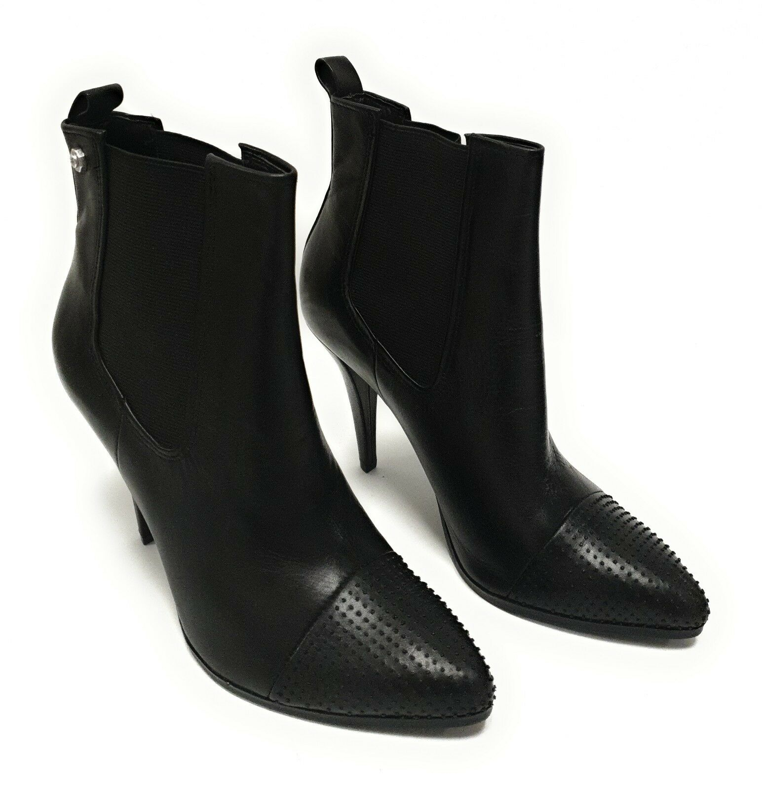 DIESEL Cubist Rock Damen Stiefel damen schuhe Cowboy Stiefel Leder Stiefeletten Z1   | Moderne und elegante Mode
