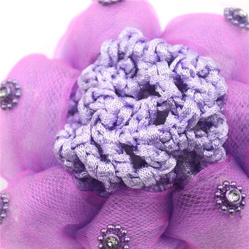 Baby Kids Bun Cover Snood Hair Net Sleep Ballet Dance Skating Crochet DecorG0 YN