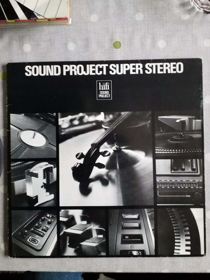 LP, SOUND PROJECT SUPER STEREO, Andet