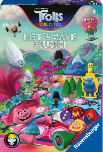 GAME Toys Puzzles BN LET'S SAVE MUSIC Ravensburger TROLLS 2 WORLD TOUR