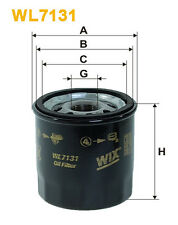WIX WL7131 Car Oil Filter - Spin-On Replaces W681 PH4967 AW118