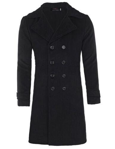 Jacket Trench Coat Double Breasted Korean Windproof Elegant for Junior