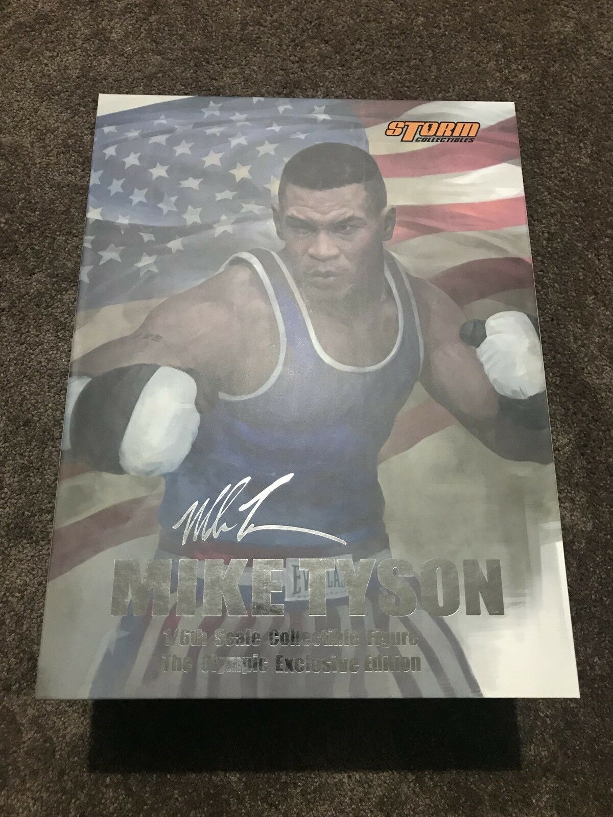 1/6 Scale Storm Toys Mike Tyson Olympic Champion Exclusive Version BIB