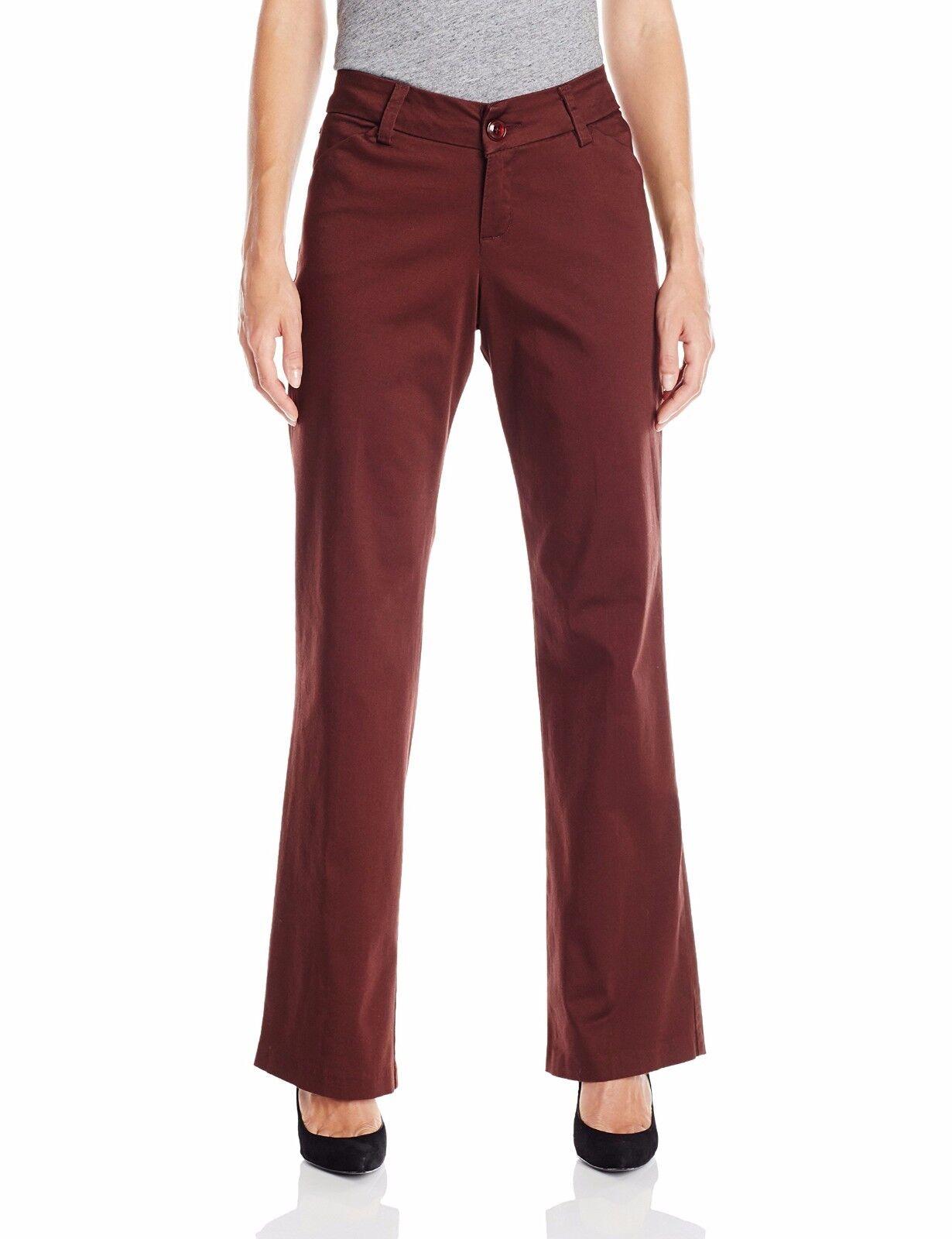 Lee Women's Curvy Fit Modern Series Trouser Pants All Spice Size 16 Medium New