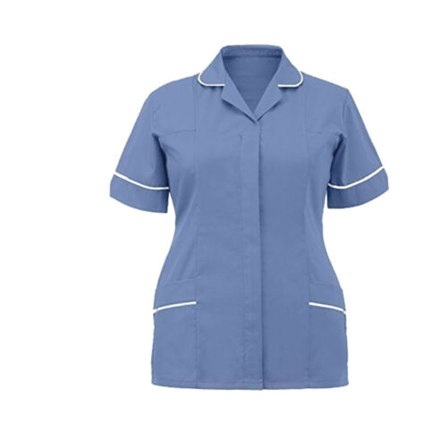 Ladies Womens Healthcare Tunics Nurse Health Tunic Maid Nurses Therapist Uniform
