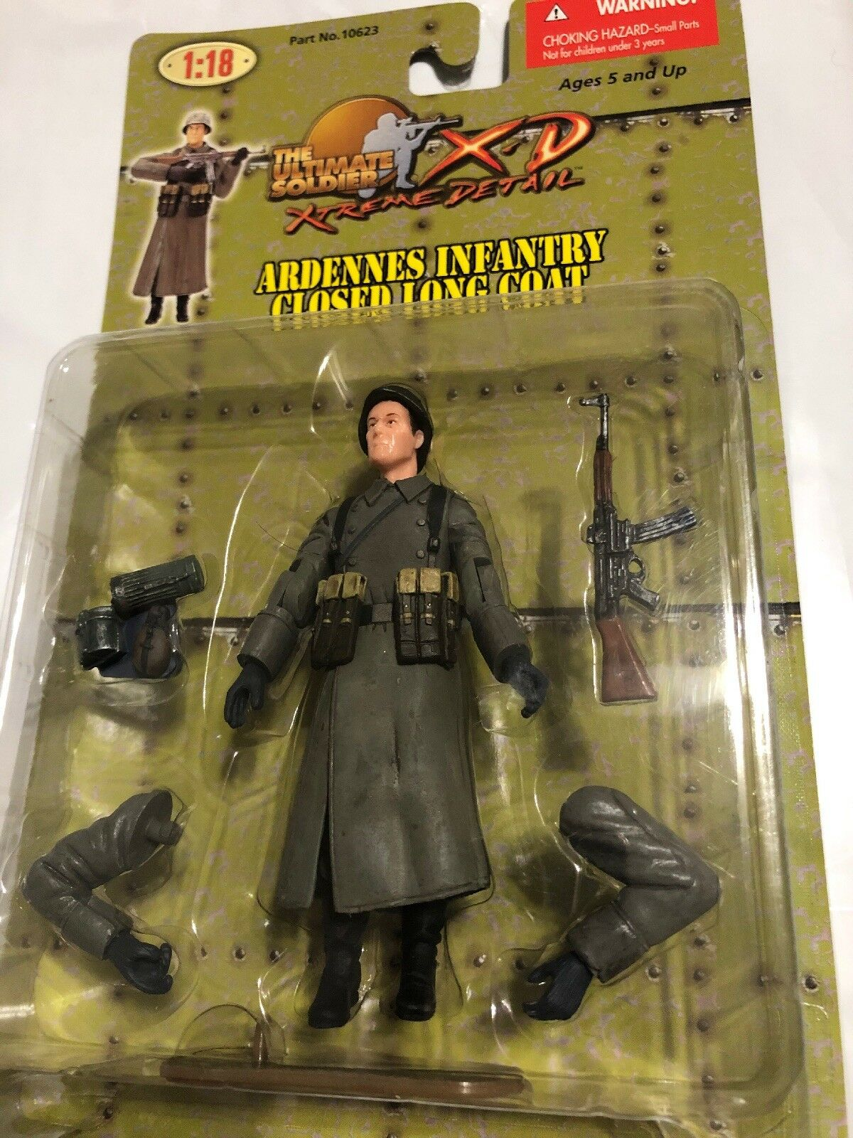 THE ULTIMATE SOLDIER XTREME DETAIL ARDENNES INFANTRY CLOSED LONG COAT